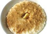Каша рисовая с корицей