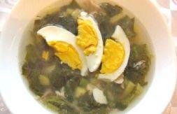 Изображение рецепта Щавелевый суп