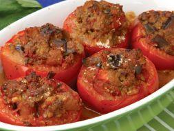 Изображение рецепта Фаршированные томаты с маслом