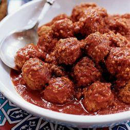 Изображение рецепта Тефтели с томатно-грибным соусом