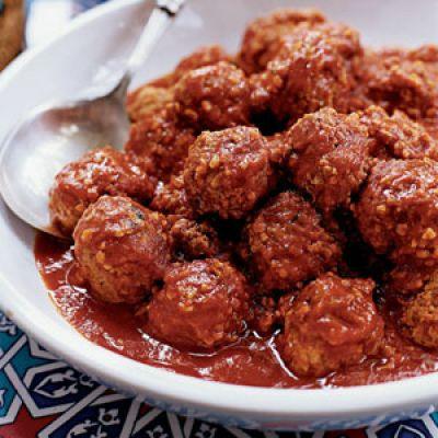 Изображение рецепта ''Тефтели с томатно-грибным соусом ''
