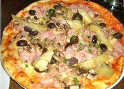 Изображение рецепта Пицца «Capricciosa» (капризная)
