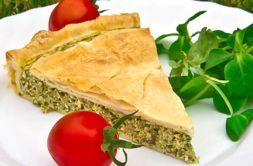Изображение рецепта Пирог с брынзой и шпинатом