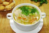 Куриный суп с вермишелью и овощами