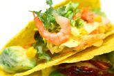 Сметанная заправка для мексиканского салата с креветками