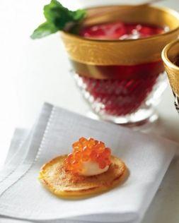 Изображение рецепта Мини-блины с икрой