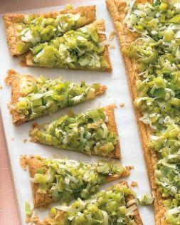 Изображение рецепта Пирог с луком-пореем