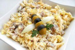 Изображение рецепта Салат из сельди с картофелем и сыром