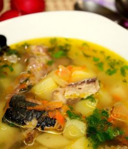 Изображение рецепта Суп из рыбных консервов с картофелем