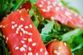 Изображение рецепта Салат с рукколой и лососем