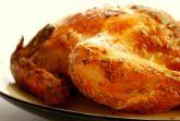 Курица, запеченная с сыром и перцем