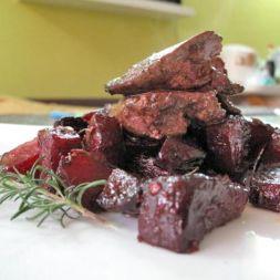 Изображение рецепта Запеченная свекла с розмарином