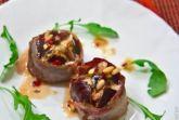 Изображение рецепта Инжир, запеченный с беконом и горгонзолой