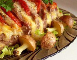 Изображение рецепта Свиная корейка, запеченная в фольге