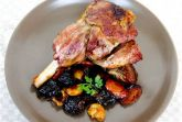 Изображение рецепта Баранина с чесноком и черносливом