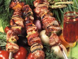 Изображение рецепта Шашлык из свинины в томатном соусе