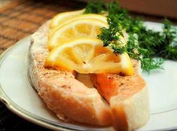 Изображение рецепта Форель с сельдереем в духовке
