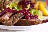 Изображение рецепта Утка с брусничным соусом