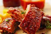 Свинина с томатным соусом в духовке