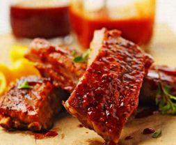 Изображение рецепта Свинина с томатным соусом в духовке