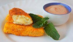 Изображение рецепта Картофельные палочки с сыром