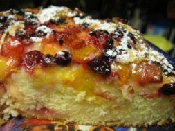 Изображение рецепта Пирог с ягодами и фруктами