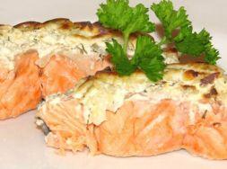 Изображение рецепта Форель запеченная с грибами