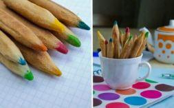 Изображение рецепта Печенье ''Цветные карандаши''