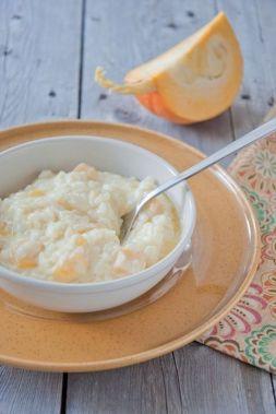 Изображение рецепта Молочная рисовая каша с тыквой