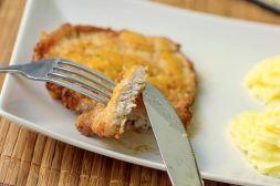 Изображение рецепта Свинина в сырной корочке