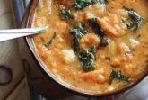 Острый овощной суп с амарантом