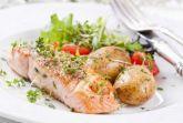Запеченный лосось под хрустящей сырной корочкой