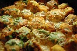 Изображение рецепта Куриные шарики в сливочном соусе