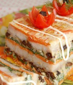Изображение рецепта Рыбный торт