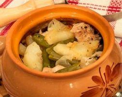 Изображение рецепта Курица в горшочке с овощами