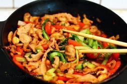 Изображение рецепта Телятина с овощами по-китайски от Пикантэ