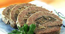 Изображение рецепта Мясной рулет из индейки