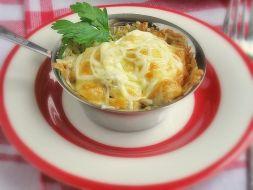 Изображение рецепта Жюльен из шампиньонов с курицей