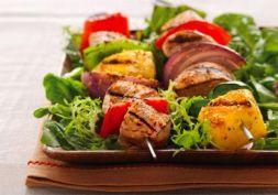 Изображение рецепта Шашлык из курицы в соевом соусе