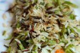 Рис со стручковой фасолью