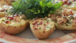Изображение рецепта Картофель, фаршированный курицей