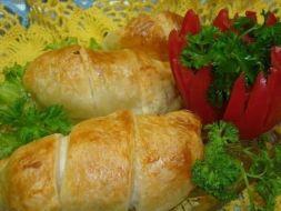 Изображение рецепта Куриное филе в слойке
