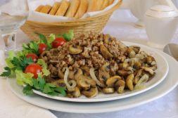 Изображение рецепта Гречка с грибами