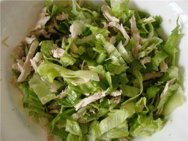 Салат с пекинской капусты фото