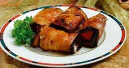 Изображение рецепта Рулетики из баклажан