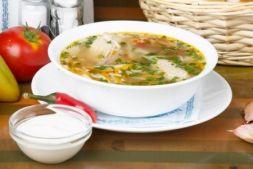 Изображение рецепта Молдавская зама с домашней лапшой