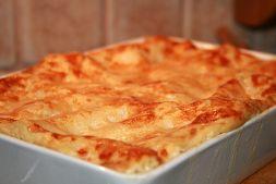 Изображение рецепта Лазанья с курицей и шампиньонами