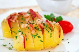 Изображение рецепта Картофель-гармошка с беконом