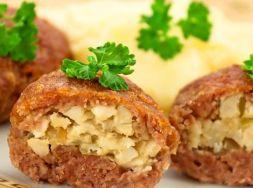 Изображение рецепта Зразы с яйцом и луком в духовке