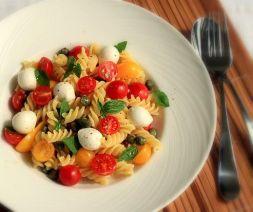 Изображение рецепта Паста с сыром моцарелла